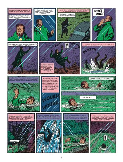 Page 9 Blake et Mortimer tome 8 - S.O.S. météores - Nouvelle édition