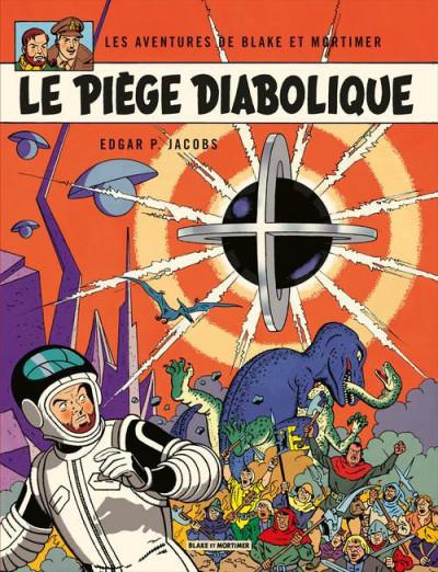Couverture Blake et Mortimer tome 9 - le piège diabolique - Nouvelle édition