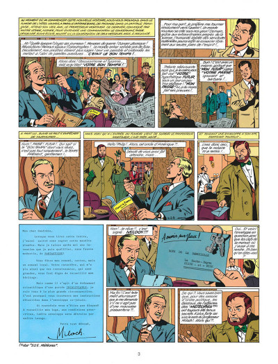 Page 3 Blake et Mortimer tome 9 - le piège diabolique - Nouvelle édition
