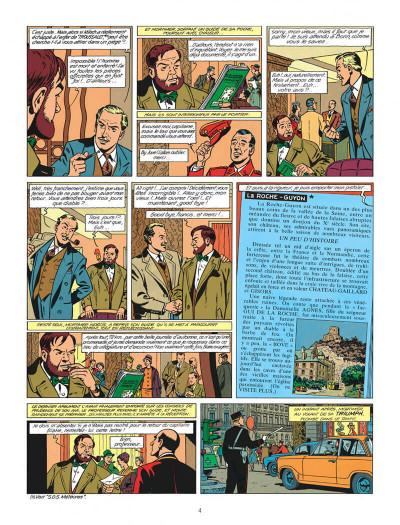 Page 4 Blake et Mortimer tome 9 - le piège diabolique - Nouvelle édition
