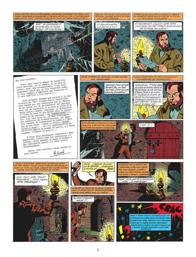 Page 6 Blake et Mortimer tome 9 - le piège diabolique - Nouvelle édition