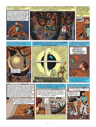 Page 7 Blake et Mortimer tome 9 - le piège diabolique - Nouvelle édition