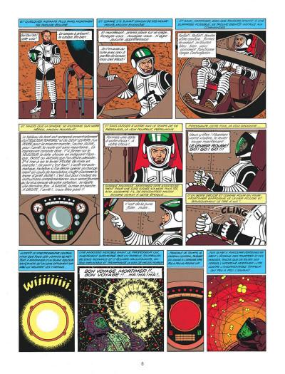 Page 8 Blake et Mortimer tome 9 - le piège diabolique - Nouvelle édition