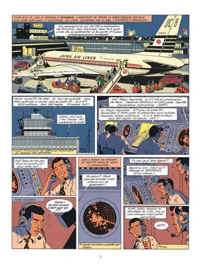 Page 3 Blake et Mortimer tome 11 - les 3 formules du professeur Satô tome 1 - Nouvelle édition