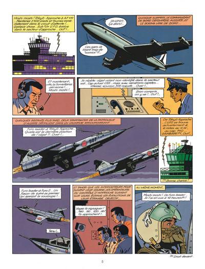 Page 5 Blake et Mortimer tome 11 - les 3 formules du professeur Satô tome 1 - Nouvelle édition