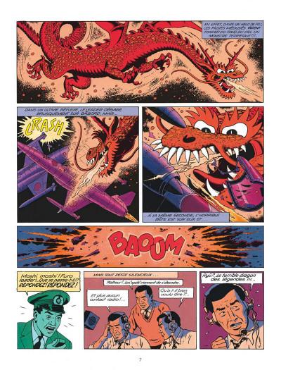 Page 7 Blake et Mortimer tome 11 - les 3 formules du professeur Satô tome 1 - Nouvelle édition