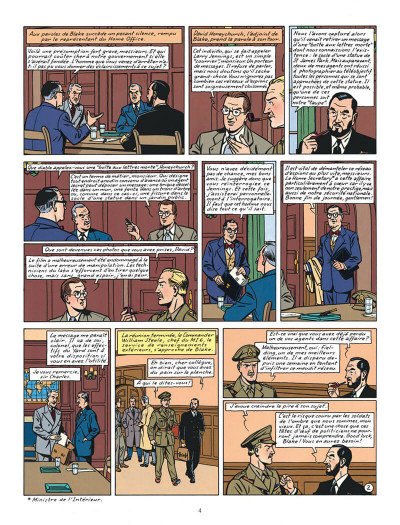 Page 4 Blake et Mortimer tome 13 - l'affaire Francis Blake