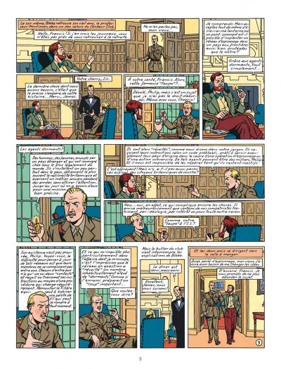 Page 5 Blake et Mortimer tome 13 - l'affaire Francis Blake