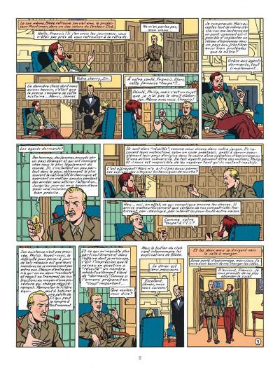 Page 5 Blake et Mortimer tome 13 - l'affaire Francis Blake