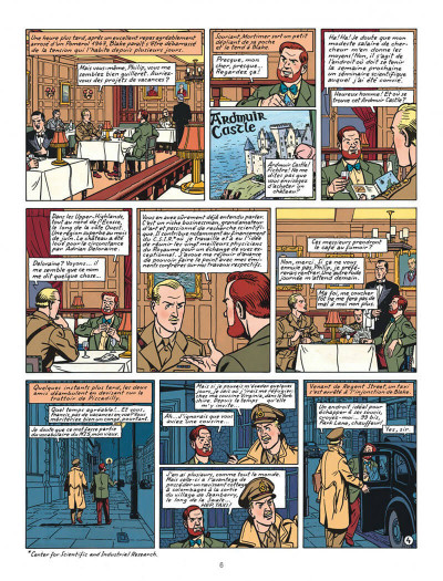 Page 6 Blake et Mortimer tome 13 - l'affaire Francis Blake