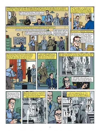 Page 7 Blake et Mortimer tome 13 - l'affaire Francis Blake