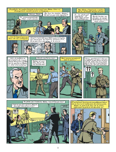 Page 8 Blake et Mortimer tome 13 - l'affaire Francis Blake
