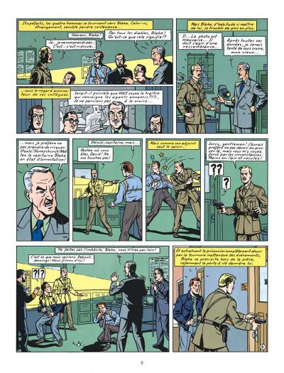 Page 8 Blake et Mortimer tome 13 - l'affaire Francis Blake