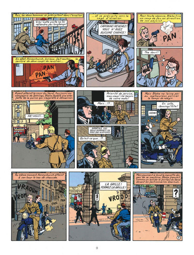 Page 9 Blake et Mortimer tome 13 - l'affaire Francis Blake