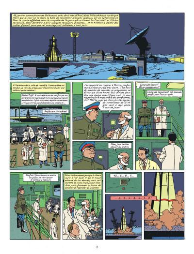 Page 3 Blake et Mortimer tome 14 - La Machination Voronov