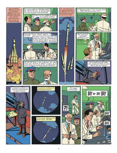 Page 4 Blake et Mortimer tome 14 - La Machination Voronov