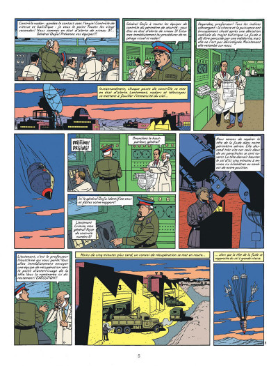 Page 5 Blake et Mortimer tome 14 - La Machination Voronov