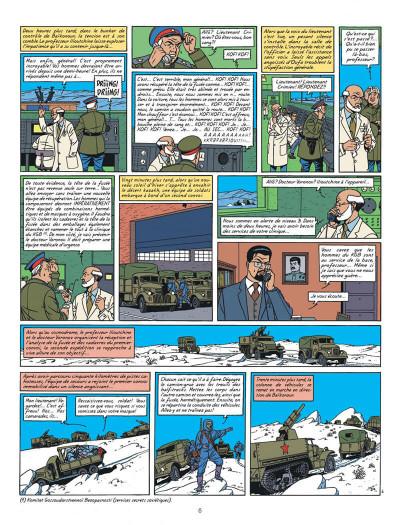 Page 6 Blake et Mortimer tome 14 - La Machination Voronov