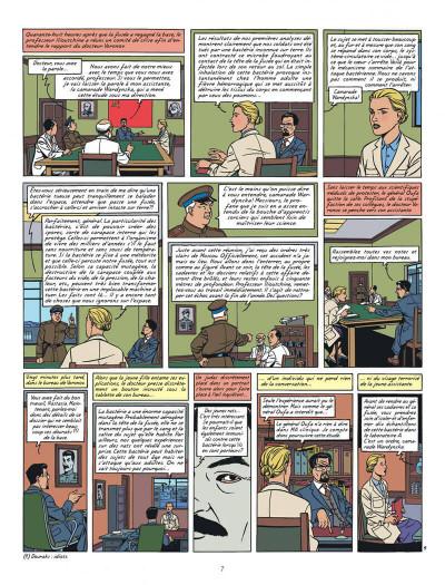 Page 7 Blake et Mortimer tome 14 - La Machination Voronov