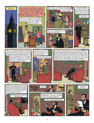 Page 8 Blake et Mortimer tome 14 - La Machination Voronov