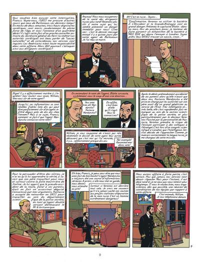 Page 9 Blake et Mortimer tome 14 - La Machination Voronov