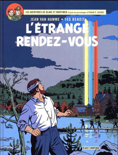 Couverture Blake Et Mortimer T.15 - L'Etrange Rendez-Vous