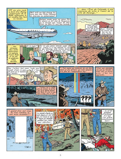Page 5 Blake et Mortimer T.15 - l'étrange rendez-vous