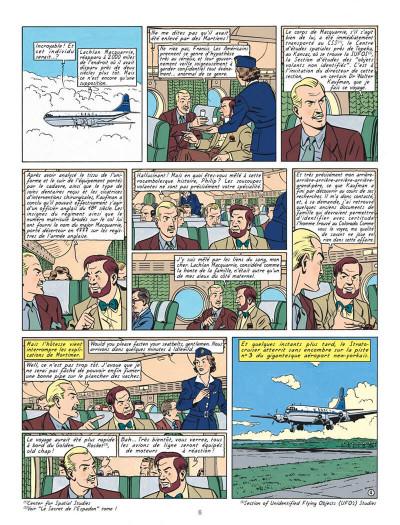 Page 6 Blake et Mortimer T.15 - l'étrange rendez-vous