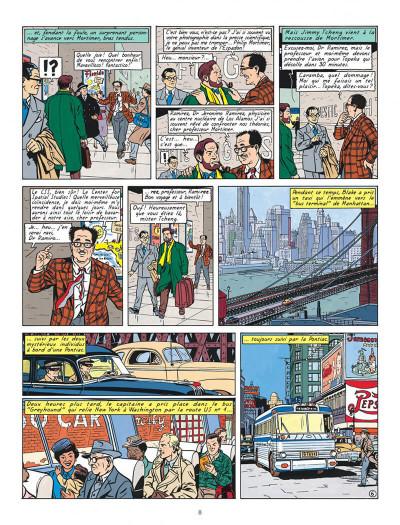 Page 8 Blake et Mortimer T.15 - l'étrange rendez-vous