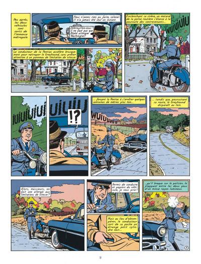 Page 9 Blake et Mortimer T.15 - l'étrange rendez-vous
