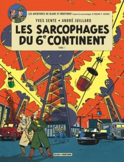 Couverture Blake et Mortimer T.16 - les sarcophages du 6e continent tome 1