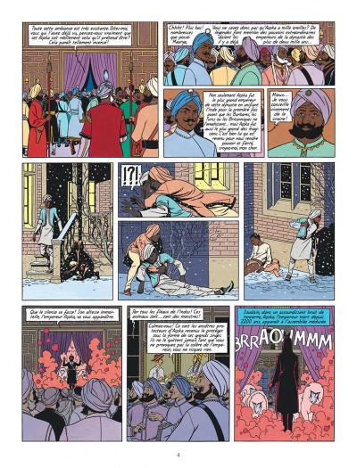 Page 4 Blake et Mortimer T.16 - les sarcophages du 6e continent tome 1