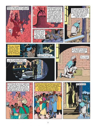 Page 5 Blake et Mortimer T.16 - les sarcophages du 6e continent tome 1