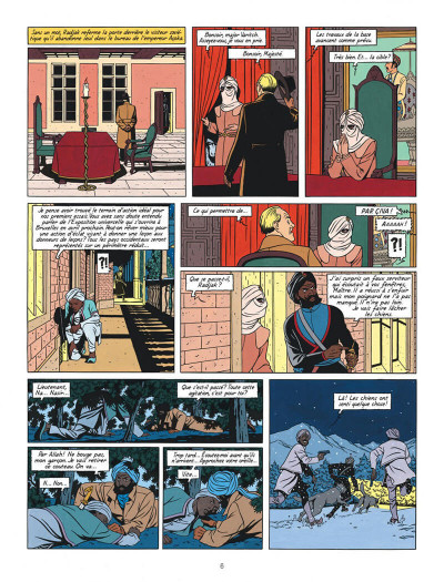 Page 6 BLAKE ET MORTIMER - Blake et Mortimer T.16 - les sarcophages du 6e continent tome 1