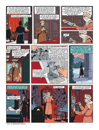 Page 7 Blake et Mortimer T.16 - les sarcophages du 6e continent tome 1