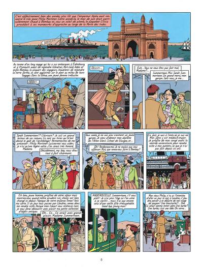 Page 8 Blake et Mortimer T.16 - les sarcophages du 6e continent tome 1