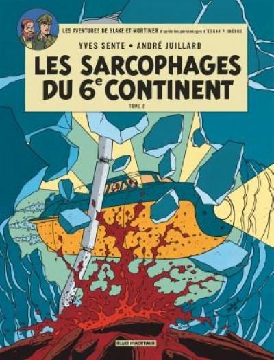 Couverture Blake et mortimer tome 17 les sarcophages du 6e continent tome 2