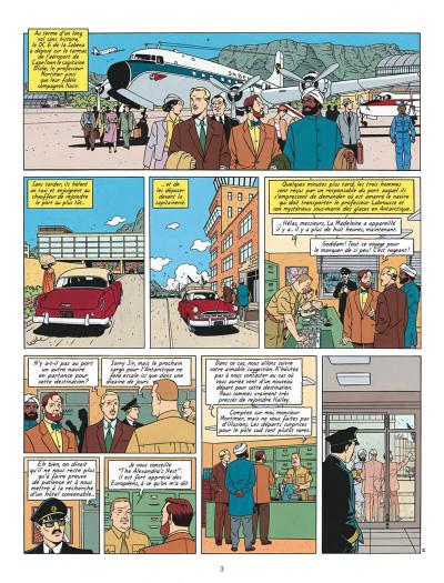 Page 3 Blake et mortimer tome 17 les sarcophages du 6e continent tome 2