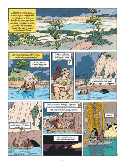 Page 3 Blake et Mortimer tome 18 - Le Sanctuaire De Gondwana
