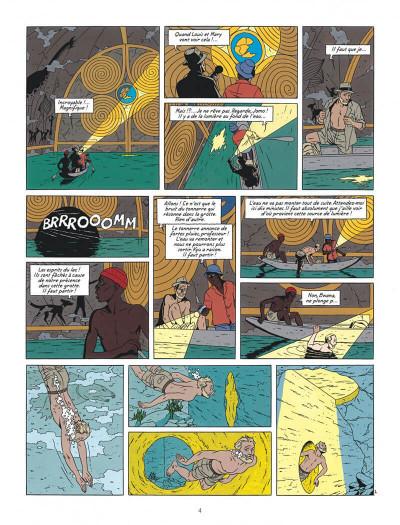 Page 4 Blake et Mortimer tome 18 - Le Sanctuaire De Gondwana