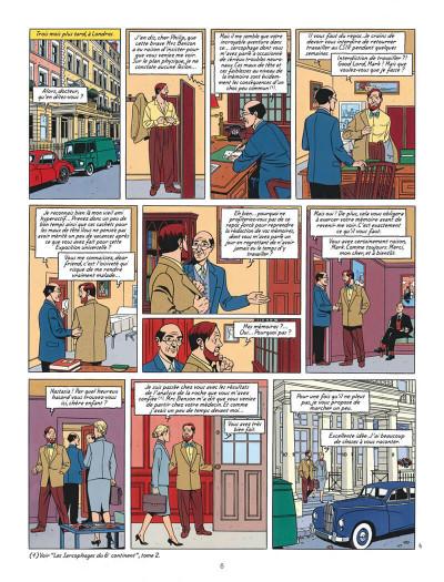 Page 6 Blake et Mortimer tome 18 - Le Sanctuaire De Gondwana