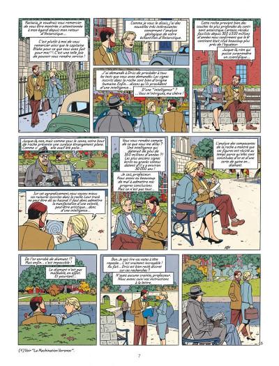 Page 7 Blake et Mortimer tome 18 - Le Sanctuaire De Gondwana