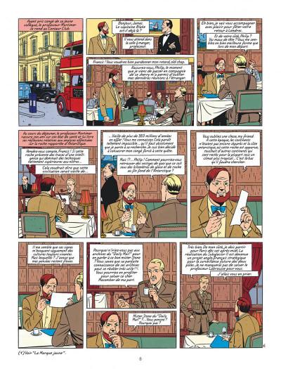 Page 8 Blake et Mortimer tome 18 - Le Sanctuaire De Gondwana