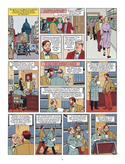 Page 9 Blake et Mortimer tome 18 - Le Sanctuaire De Gondwana