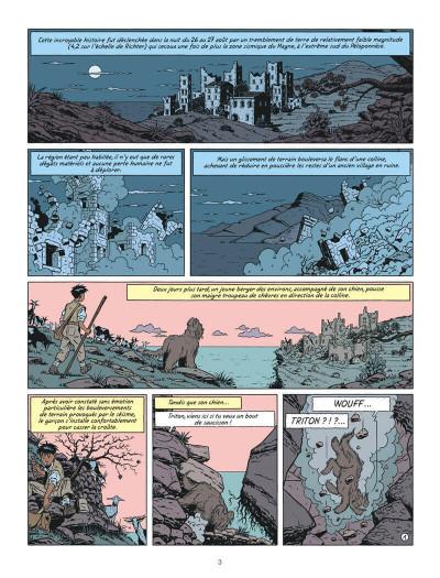 Page 3 Blake et Mortimer tome 19 - la malédiction des trente deniers