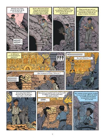 Page 4 Blake et Mortimer tome 19 - la malédiction des trente deniers