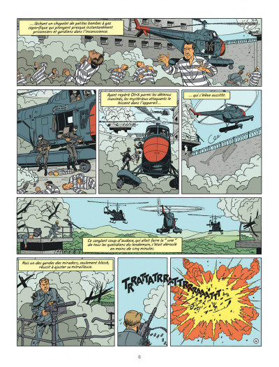 Page 6 Blake et Mortimer tome 19 - la malédiction des trente deniers