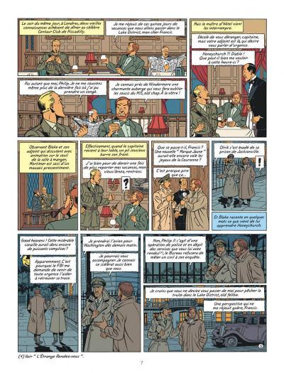 Page 7 Blake et Mortimer tome 19 - la malédiction des trente deniers