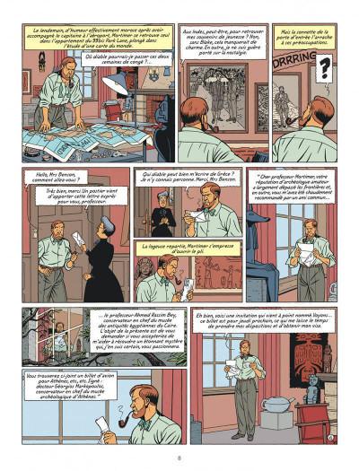 Page 8 Blake et Mortimer tome 19 - la malédiction des trente deniers