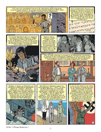 Page 3 Blake et Mortimer tome 20
